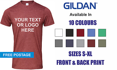 CUSTOM PERSONALISED PRINTED T-Shirts Men Women's TShirt Stag Do Hen Party Events