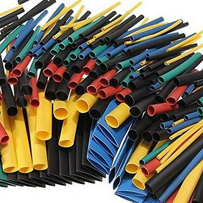 280Pcs 8 Size Assortment 2:1 Heat Shrink Tube Tubing Sleeve Wrap Wire Cable LG