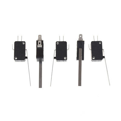 5pcs KW7-9 Long Straight Hinge Lever Type SPDT Micro Switch Limit Switch DSUK