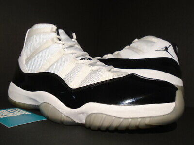 huge discount 93b07 64365 2011 Nike Air Jordan Xi 11 Retro White Black Concord Space Jam 378037-107