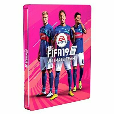 FIFA 19 PS4 - Xbox One  - Steelbook for Standard Edition Ultimate Team NO DISC