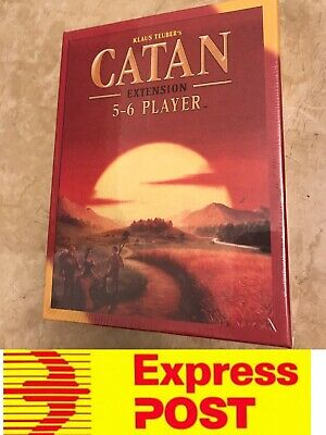 Settlers of Catan Extention 5-6 Player Expansion Pack, Mel Stock, Express Post