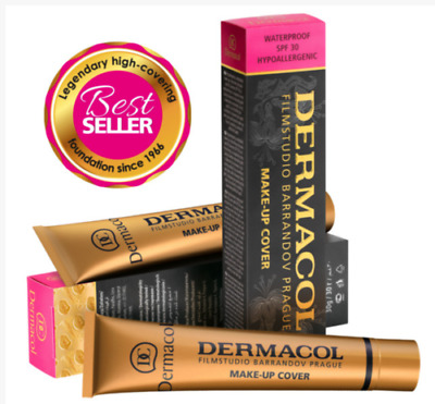 DERMACOL AUTHENTIC LEGENDARY High Cover Make Up Foundation Film Studio 208
