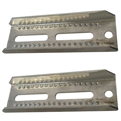 2 Pack 8 Inch Boat Trailer Top Bunk Board Brackets Hot Dipped Galvanized Steel