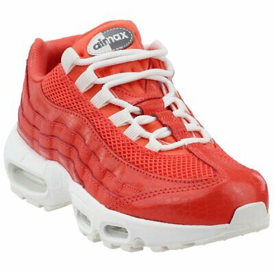 05a50aca6b NIKE WOMENS AIR Max 95 NSW WMNS Size 8 Red Crush White Athletic Shoe ...