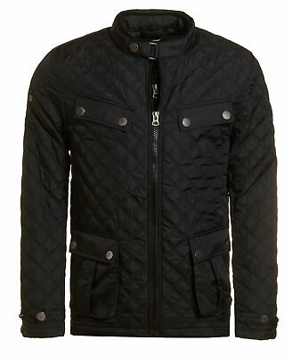 New Mens Superdry Unique Sample Apex Norse Jacket Size Small Black