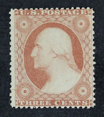 CKStamps: US Stamps Collection Scott#26 3c Washington Unused NG