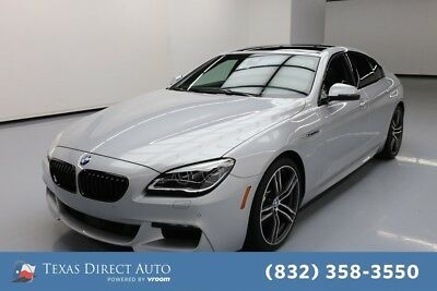 2018 BMW 6-Series 650i Texas Direct Auto 2018 650i Used Turbo 4.4L V8 32V Automatic RWD Sedan Premium