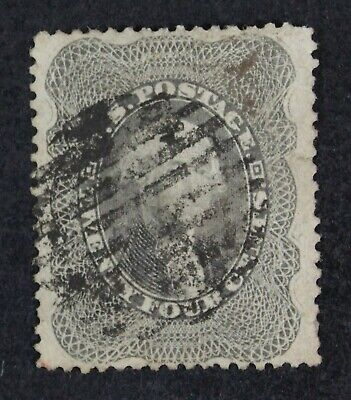 CKStamps: US Stamps Collection Scott#37 24c Washington Used Tiny Tear Crease