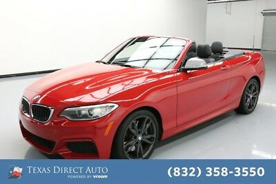 2017 BMW M Roadster & Coupe M240i Texas Direct Auto 2017 M240i Used Turbo 3L I6 24V Automatic RWD Convertible