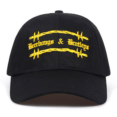 Post Malone Cap Embroided Rapper Dad Baseball Hat  Hip Hop Beerbongs and Bentley