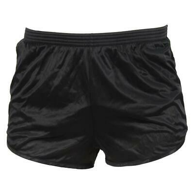 NEW Soffe Ranger Panty Silkies PT Shorts Military OD Green/Black Workout Bottoms