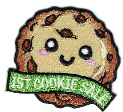 GIRL MY FIRST COOKIE SALE Daisy Brownies Fun Patches Crests