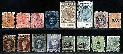 South Australia Victoria Early Issues Used Lot.           A512