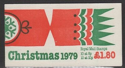 Folded Booklet Fx2. Christmas 1979. Complete & Unmounted Mint.