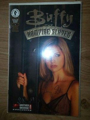Buffy Vampire Slayer #1 Signed Danny strong DF Dynamic Forces COA Dark Horse