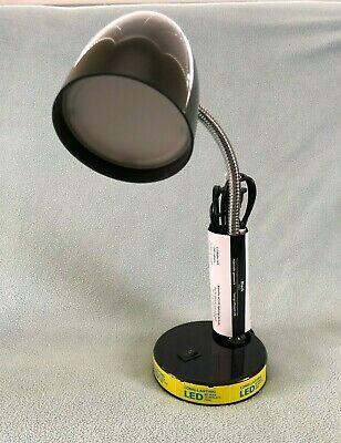 New LED Desk Table Top Lamp Light 3.5W Long-Lasting Flexible Gooseneck Free Ship
