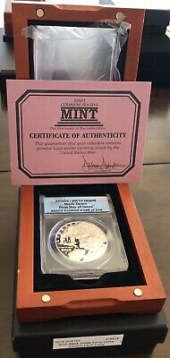 2016 P American Silver Eagle ANACS Certified PF 70 DCAM Proof Mark Twain Box