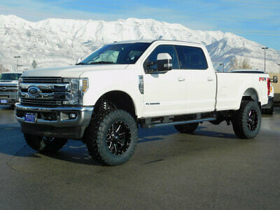 2018 Ford Super Duty F-350 LARIAT FX4 LIFTED FORD CREW CAB LARIAT 4X4 POWERSTROKE DIESEL CUSTOM WHEELS TIRES LEATHER