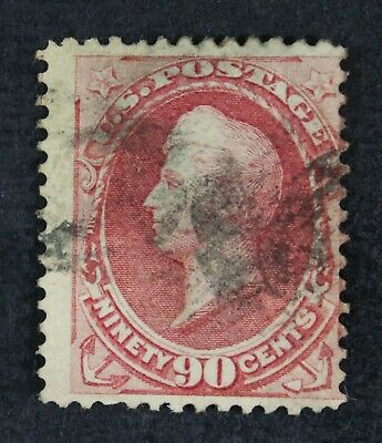 CKStamps: US Stamps Collection Scott#166 90c Perry Used Tiny Tear CV$300