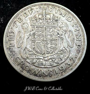 1937 George VI Silver Crown Coin