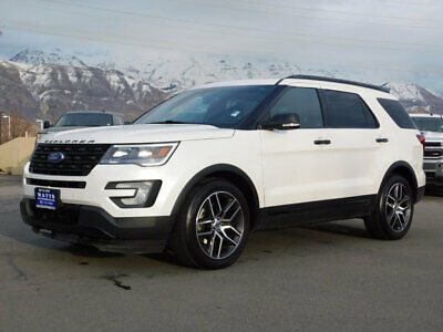 2016 Ford Explorer SPORT FORD EXPLORER SPORT SUV AWD 3.5L ECOBOOST LEATHER NAVIGATION SUNROOF 3RD ROW