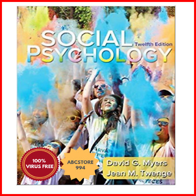 Social Psychology 12th edition by David Myers
