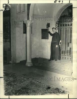1939 Press Photo Reverend S.H. Ray, S.J., Director of Our Lady of the Oaks