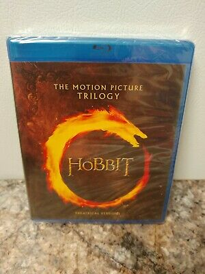 The Hobbit Trilogy: Theatrical Versions (Blu-Ray) Factory Sealed