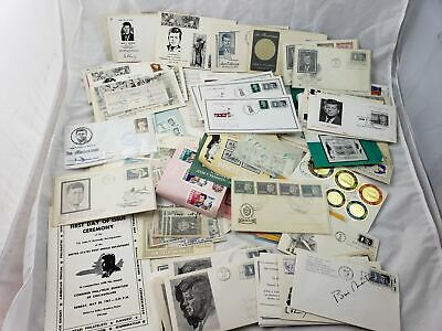 large collection of JFK John F. Kennedy covers / stamps