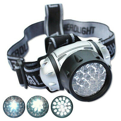 12 Led Ultra Bright Head Torch Light Lamps Camping Hiking Fishing Lighting Car