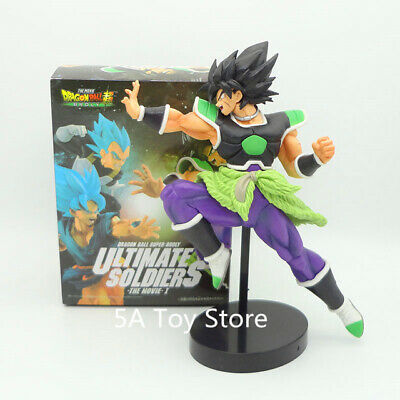 Dragon ball Z Super Ultimate Soldiers The Movie Broly Figurine PVC Action Figure