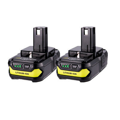 2x For Ryobi 18V One+ Plus P102 P103 P107 P108 Lithium-Ion Battery Pack 2.5Ah US