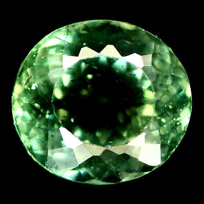 1.68 Ct Natural Green Apatite Madagascar Oval