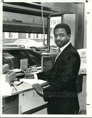 1984 Press Photo Anthony L. Grant Management Training at National City Bank.