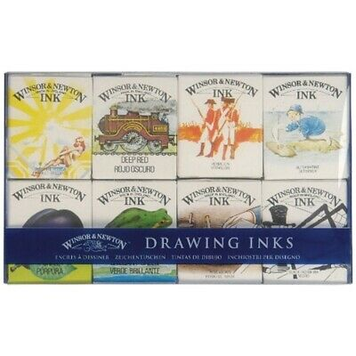 Winsor & Newton Drawing Ink - William Collection Pack - Set 8