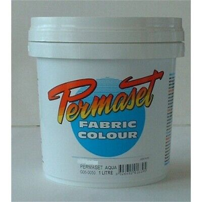 Permaset Aqua Supercover 1 Litre Fabric Printing Ink - Mid Yellow