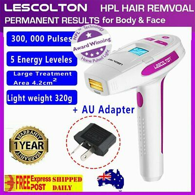 LESCOLTON IPL Hair Laser Removal Hair Remover for Body and Face Home Device UY