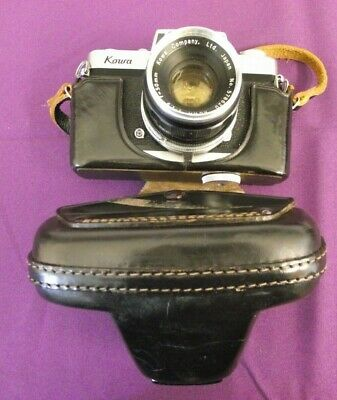 KOWA SE 35mm CAMERA 50mm LENS F1.9 WITH CASE ~ UNTESTED
