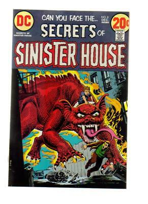 Secrets  Of Sinister House # 8 Nm Cond. 1972 Bagged