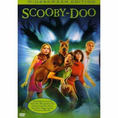 Scooby-Doo Widescreen Edition On DVD With Matthew Lillard Very Good E15
