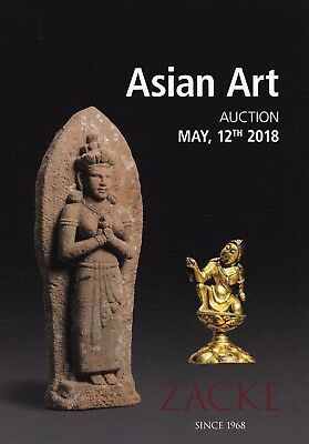 ASIAN ART: Katalog Zacke, Wien 18