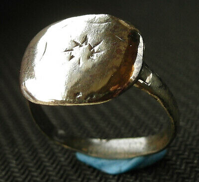 A genuine ancient Roman Æ Sol-Invictus ring - wearables