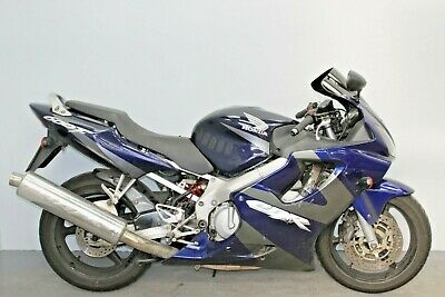2002 Honda Cbr600F Damaged Spares Or Repair **no Reserve** (17725)