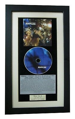 IAN BROWN Ripples CLASSIC CD Album GALLERY QUALITY FRAMED+EXPRESS GLOBAL SHIP