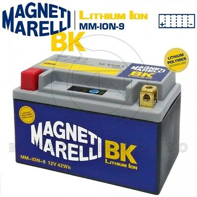Lithium Battery Magneti Marelli Ion-9 Ytx12 Triumph Speed Triple R 1050 11-15