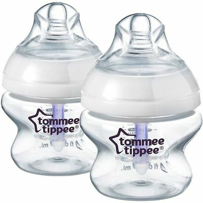 Tommee Tippee Closer To Nature Advanced Comfort 150Ml X2 Bottles 0M+