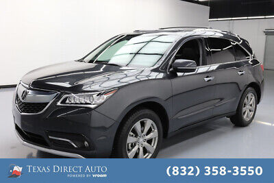 2016 Acura MDX 4dr SUV w/Advance Package Texas Direct Auto 2016 4dr SUV w/Advance Package Used 3.5L V6 24V Automatic FWD