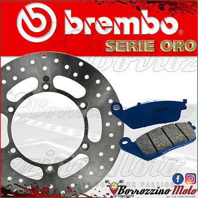 Brembo 68B407E6 Brake Disc + Pads Front Yamaha X-City 250 2008 > 2016