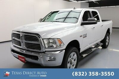 2016 Ram 2500 Big Horn Texas Direct Auto 2016 Big Horn Used 6.4L V8 16V Automatic 4WD Pickup Truck